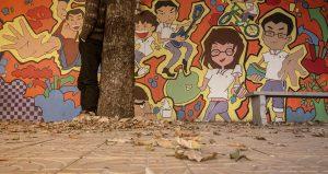 Graffiti, Pouličné umenie
